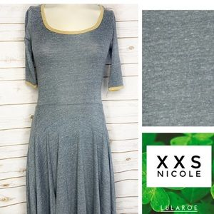 XXS grey/yellow Nicole